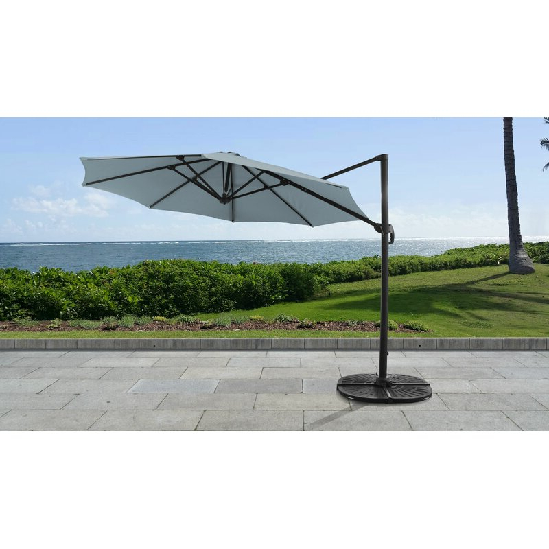 Elaina 11' Cantilever Umbrella Intended For Current Elaina Cantilever Umbrellas (View 1 of 25)