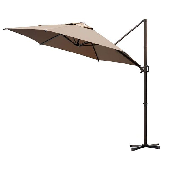 Elaina Cantilever Umbrellas regarding Newest Christopher 9' Cantilever Umbrella