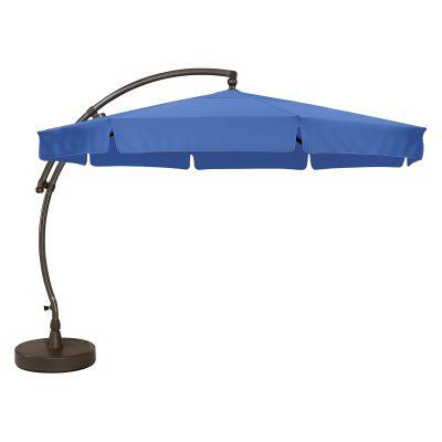 Emely Cantilever Sunbrella Umbrellas For Most Recently Released Sun Garden The Original Easy Sun 11.5 Ft (View 11 of 25)