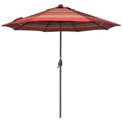 Emely Cantilever Sunbrella Umbrellas Intended For Most Popular Hampton Bay 8.8 Ft. X 14 Ft (View 19 of 25)