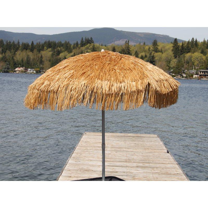 Esai Beach Umbrellas pertaining to Trendy Palapa 6' Beach Umbrella