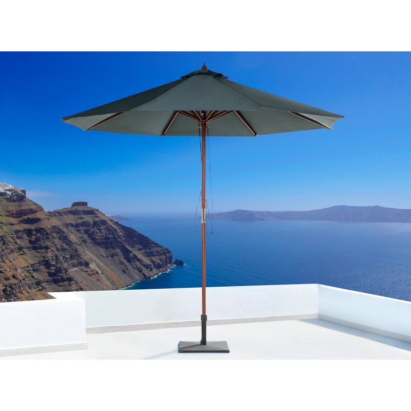 Espinal 9' Market Umbrella throughout Most Current Lora Market Umbrellas