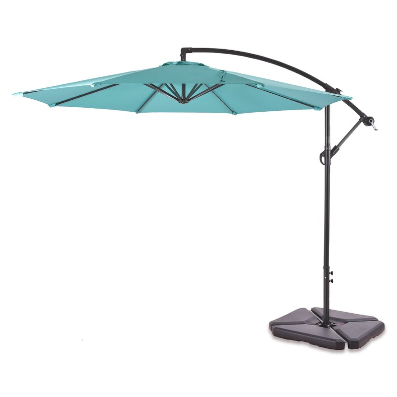 Famous Alyssa Cantilever Umbrellas Intended For Karr 10' Cantilever Umbrella (View 11 of 25)
