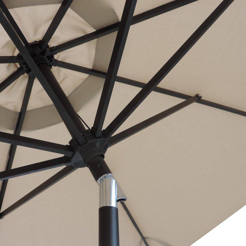 Famous Cannock 11' Market Umbrella Inside Cannock Market Umbrellas (View 12 of 25)