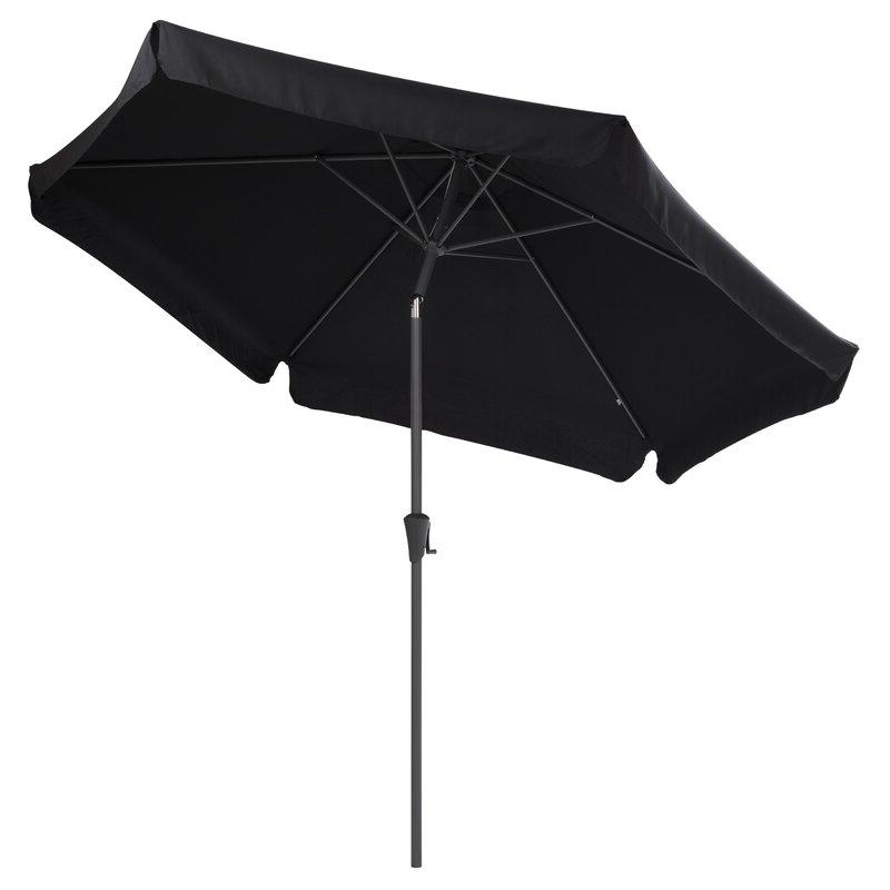 Famous Crowborough 10' Market Umbrella Throughout Crowborough Market Umbrellas (View 5 of 25)