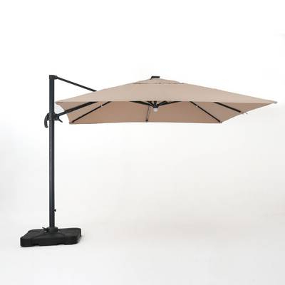 Famous Emely 11' Cantilever Sunbrella Umbrella & Reviews (View 8 of 25)