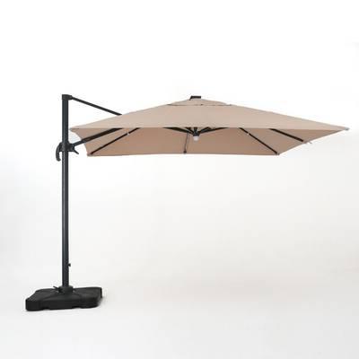 Famous Emely 11' Cantilever Sunbrella Umbrella & Reviews (View 14 of 25)