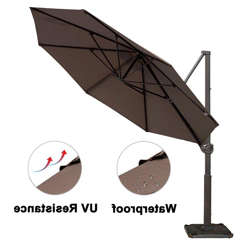 Famous Farnham Cantilever Umbrellas With Farnham Cantilever Umbrella (View 2 of 25)