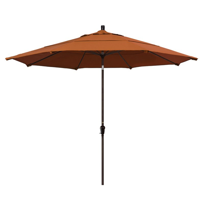 Famous Isom Market Umbrellas Throughout Mullaney 11' Market Sunbrella Umbrella (View 3 of 25)