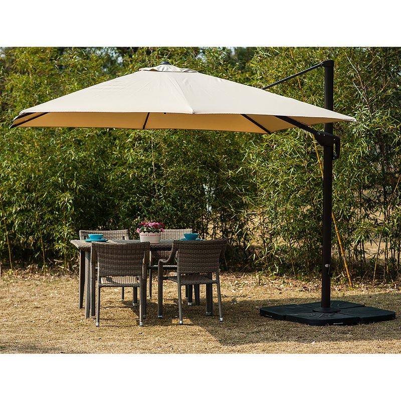 Famous Ketcham Cantilever Umbrellas Within Lia 10' Cantilever Umbrella (View 4 of 25)