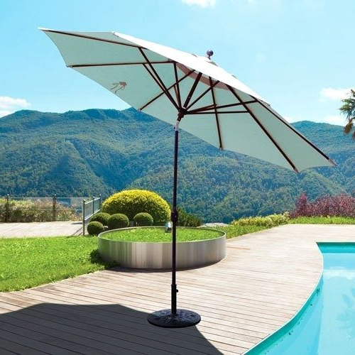 Famous Lennie Cantilever Sunbrella Umbrellas Intended For Attractive 12 Foot Patio Umbrella – Hbox (View 21 of 25)