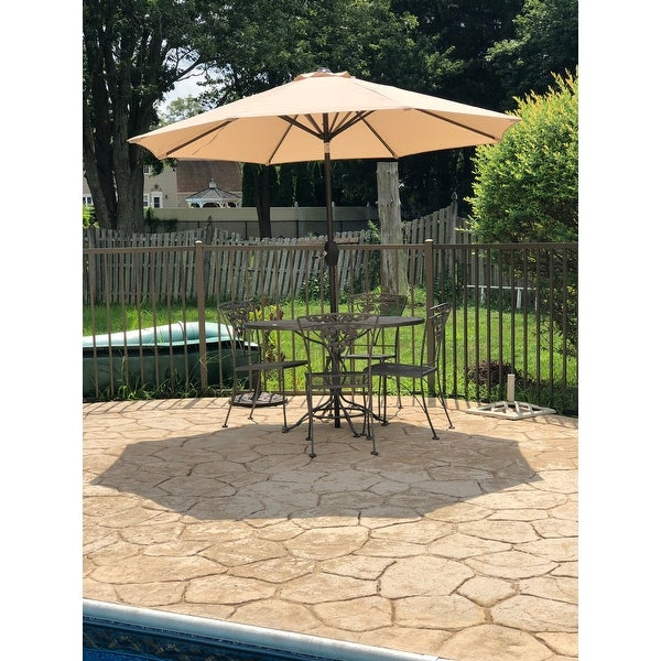 Famous Top Product Reviews For Amada 9 Ft Aluminum Patio Umbrella With Tilt Intended For Desmond  Rectangular Cantilever Umbrellas (View 10 of 25)