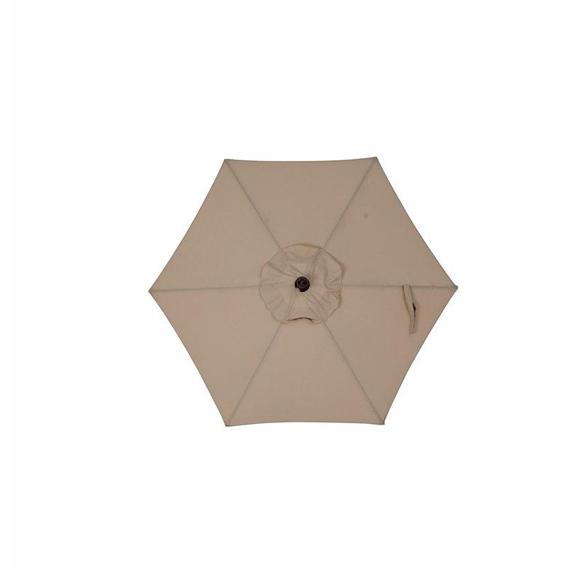 Famous Wetherby Market Umbrellas Regarding Wetherby 7' Market Umbrella (View 7 of 25)
