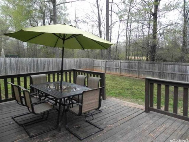 Fashionable 34 Shaded Oaks Dr, Cabot, Ar 72023 Regarding Lonoke Patio Rectangular Market Umbrellas (View 25 of 25)