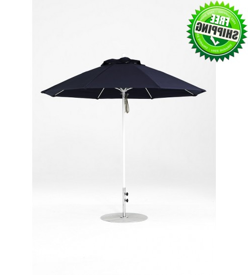 Fashionable Best Selection Commercial Patio Umbrellas – Galtech  (View 20 of 25)