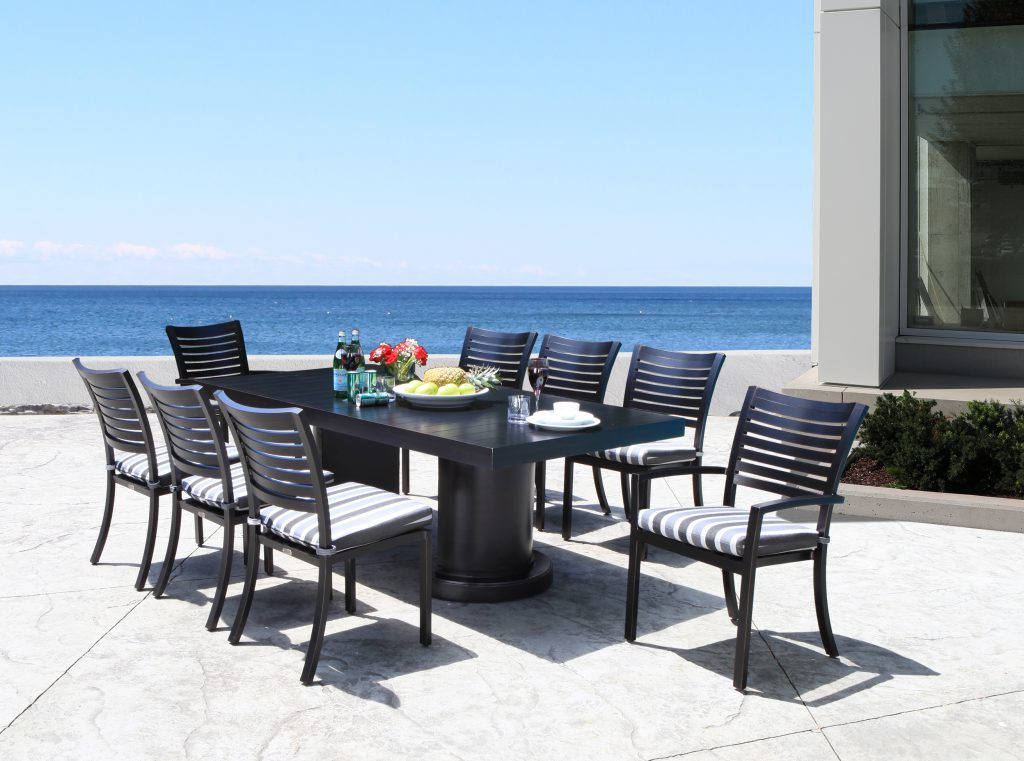 Fashionable Carlton  Rectangular Market Umbrellas Intended For Shop Patio Furniture At Cabanacoast® (View 14 of 25)