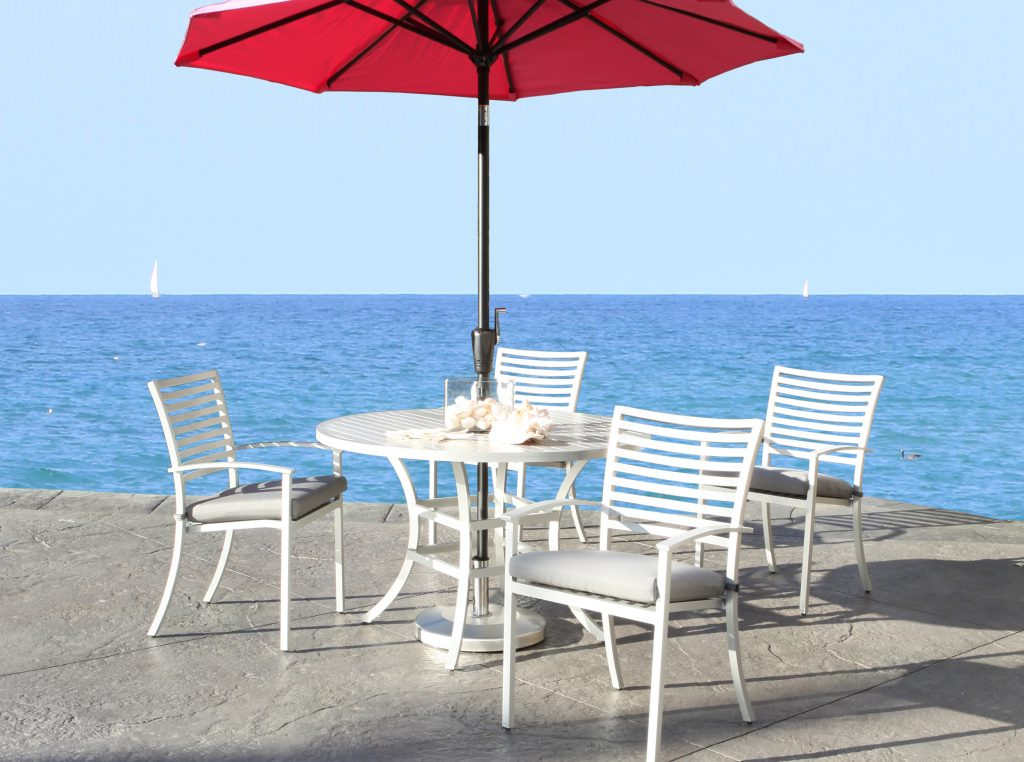 Fashionable Carlton  Rectangular Market Umbrellas With Regard To Shop Patio Furniture At Cabanacoast® (View 15 of 25)