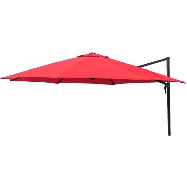 Fashionable Desmond  Rectangular Cantilever Umbrellas Inside 11 Ft Umbrella (View 15 of 25)