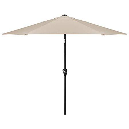 Fashionable Julian Market Umbrellas Throughout Garden Parasolnova – Aluminium Metal Outdoor Patio Umbrella Sun (View 13 of 25)