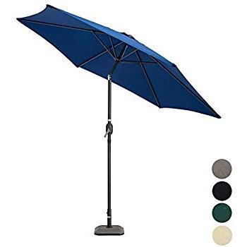 Fashionable Nova Outdoor Living Garden Parasol – Aluminium Metal Outdoor Patio Pertaining To Julian Market Umbrellas (View 24 of 25)