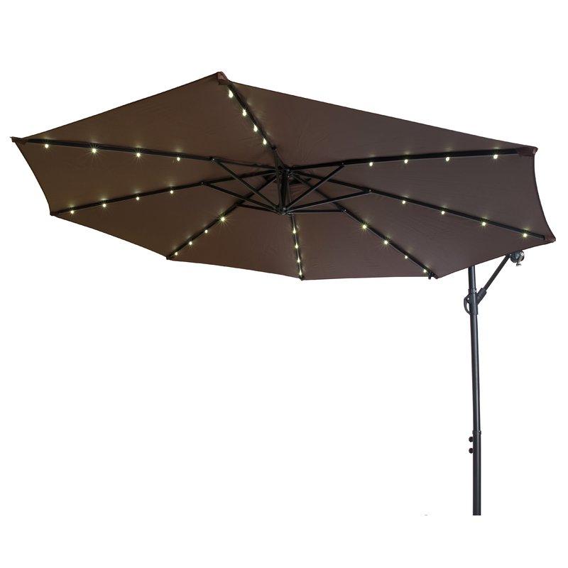 Fashionable Offset Patio 10' Cantilever Umbrella With Yajaira Cantilever Umbrellas (View 19 of 25)