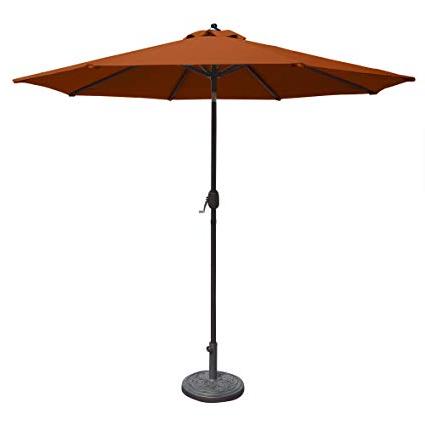 Fashionable Olen Cantilever Umbrellas Within Amazon : Island Umbrella N5422Ts Mirage Octagonal Market (View 7 of 25)
