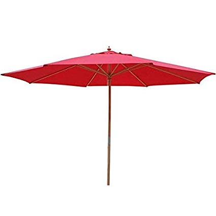 Fashionable Solid Market Umbrellas Inside Oversized 13 Ft Diam (View 10 of 25)