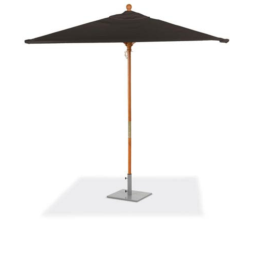 Fashionable Wiebe Auto Tilt Square Market Sunbrella Umbrellas Inside Oxford Garden 6 Ft (View 18 of 25)