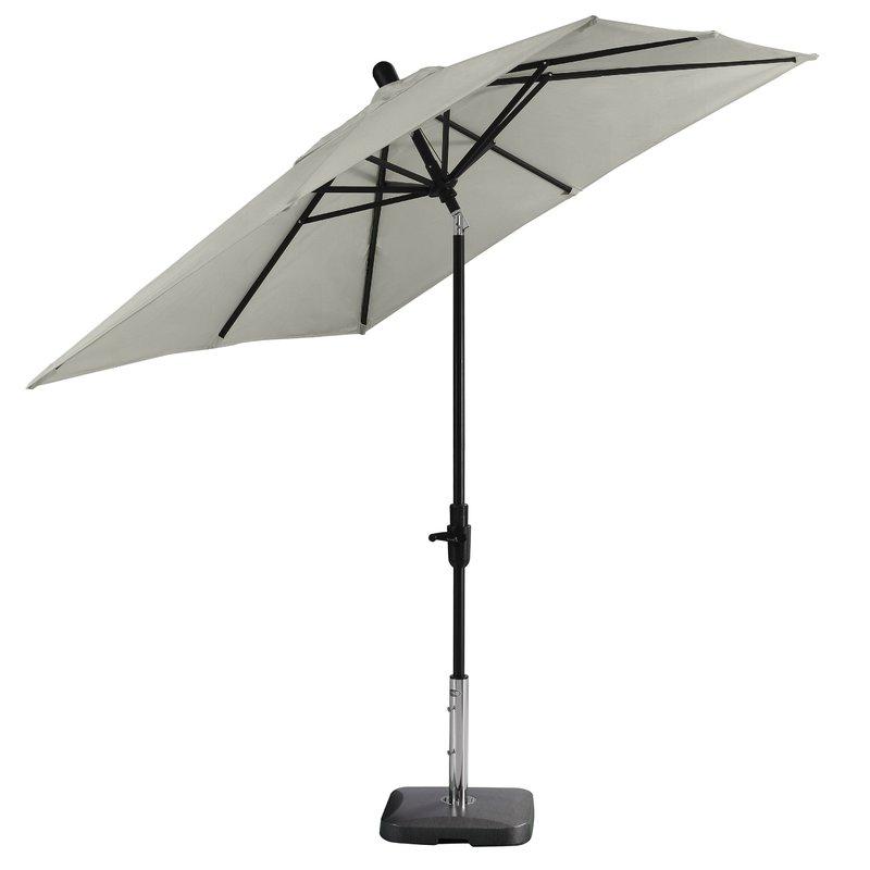 Featured Photo of Wiebe Auto Tilt Square Market Sunbrella Umbrellas