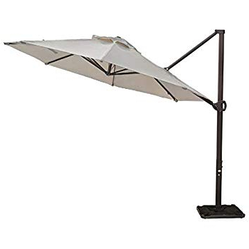 Favorite Amazon : California Umbrella 11' X 8' Rectangle Aluminum Market With Carlton  Rectangular Market Umbrellas (View 17 of 25)