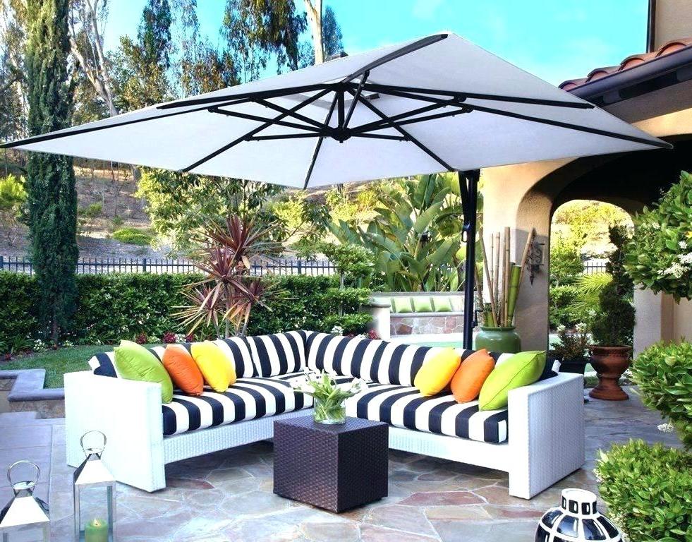 Favorite Cantilever Umbrella Sunbrella – Tildakulas (View 14 of 25)