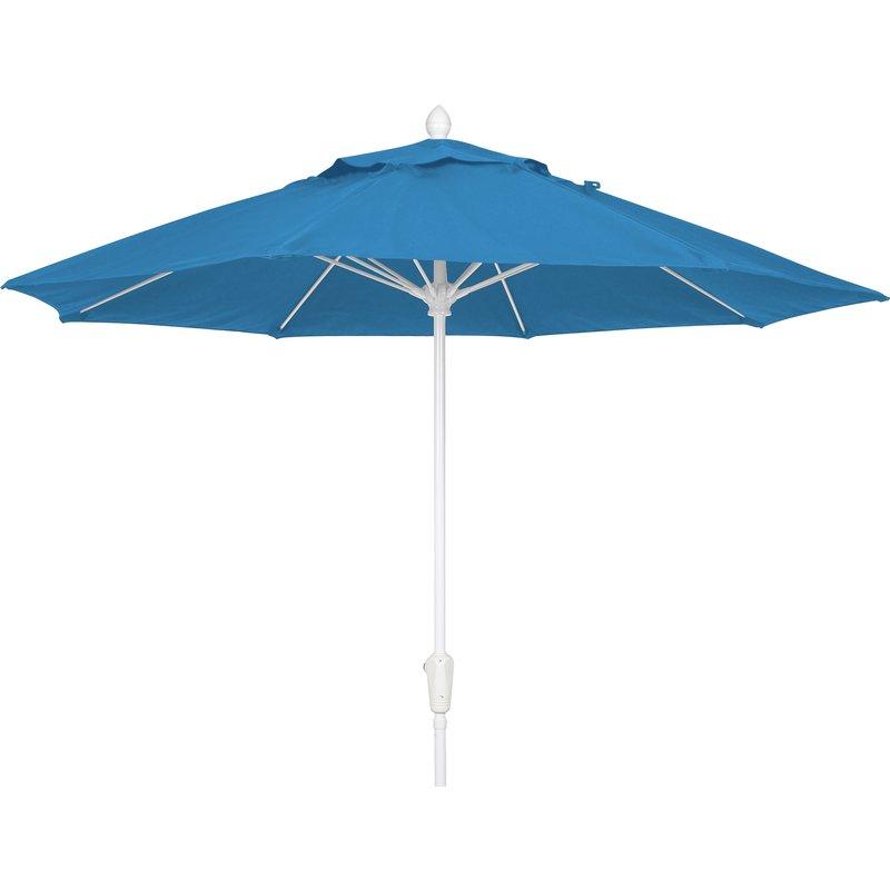 Favorite Crowland Market Sunbrella Umbrellas Within Prestige 9' Market Sunbrella Umbrella (View 11 of 25)