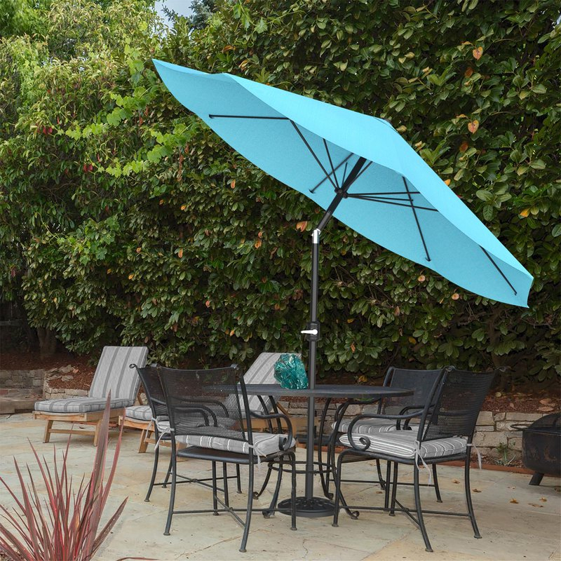 Favorite Devansh Market Umbrellas In Kelton 10' Market Umbrella (View 12 of 25)