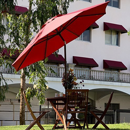Favorite Gazebos, Shade Sails, Umbrellas Oh My! A Guide To Shading Your Patio With Regard To Gainsborough Market Umbrellas (View 15 of 25)