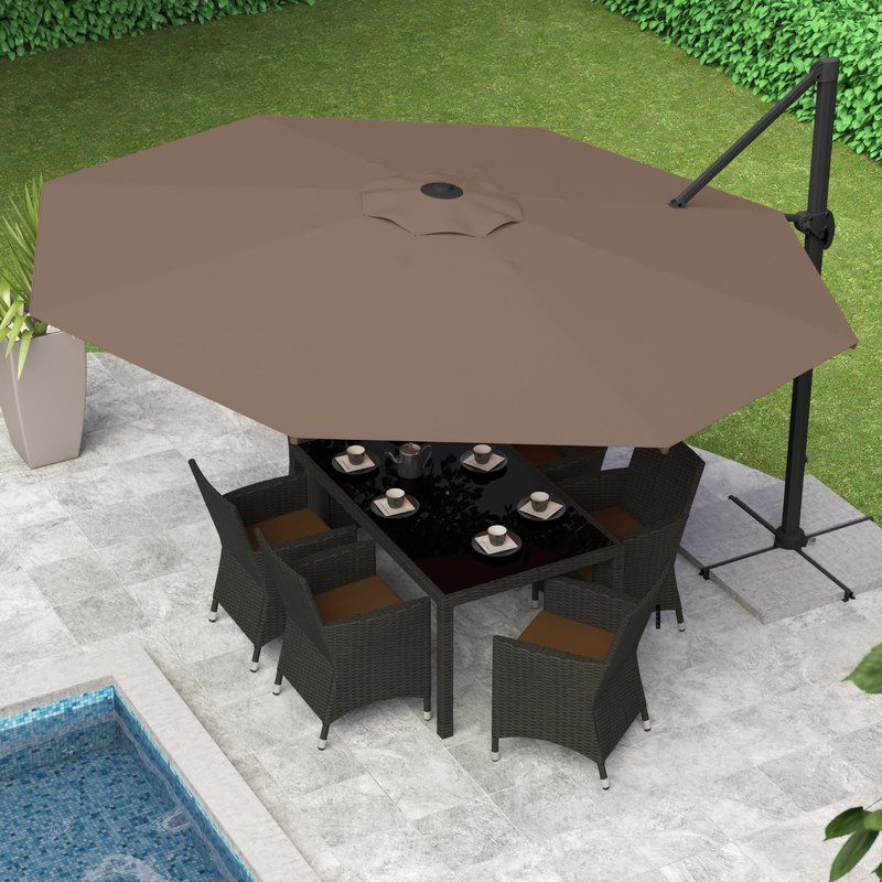 Favorite Gribble 11' Cantilever Umbrella (View 6 of 25)