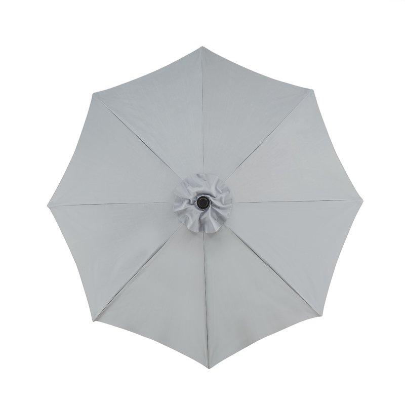 Favorite Hapeville Market Umbrellas Pertaining To Hapeville 9' Market Umbrella (View 10 of 25)
