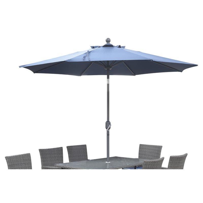 Favorite Morecambe 9' Market Umbrella Within Brame Market Umbrellas (View 8 of 25)