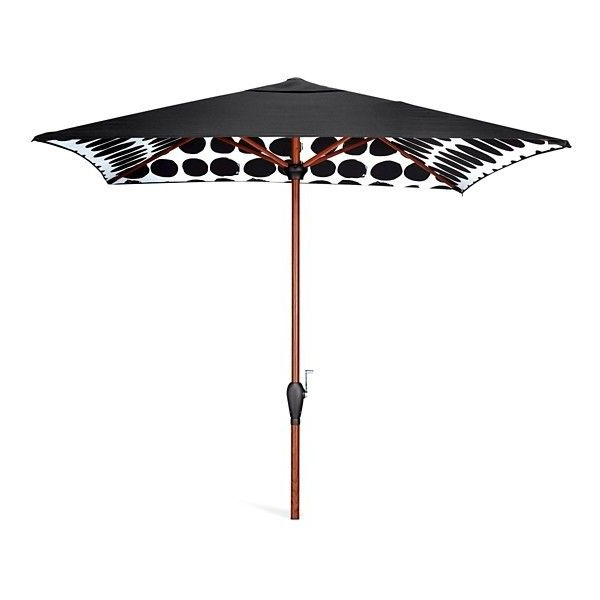 Favorite Patio Umbrella: Marimekko For Target Umbrella 8'x6': Koppelo Print Inside Devansh Market Umbrellas (View 13 of 25)