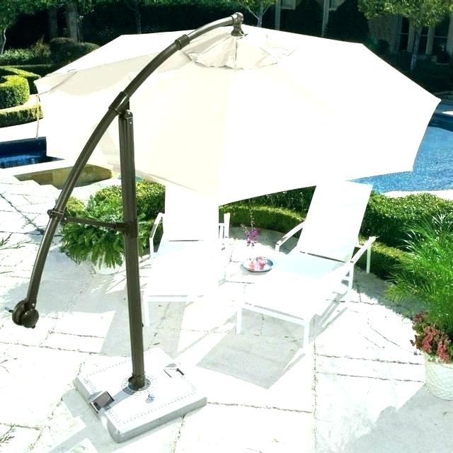 Favorite Tilda Cantilever Umbrellas With Cantilever Umbrella Sunbrella – Tildakulas (View 16 of 25)
