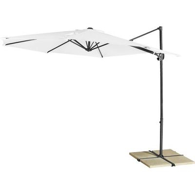Favorite Umbrellas & Stands – Coolaroo Cantilever Umbrella 3M Round For Sale For Coolaroo Cantilever Umbrellas (View 13 of 25)