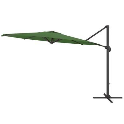 Favorite Wardingham Square Cantilever Umbrellas For Carlisle 10' Square Cantilever Sunbrella Umbrella & Reviews (View 4 of 25)