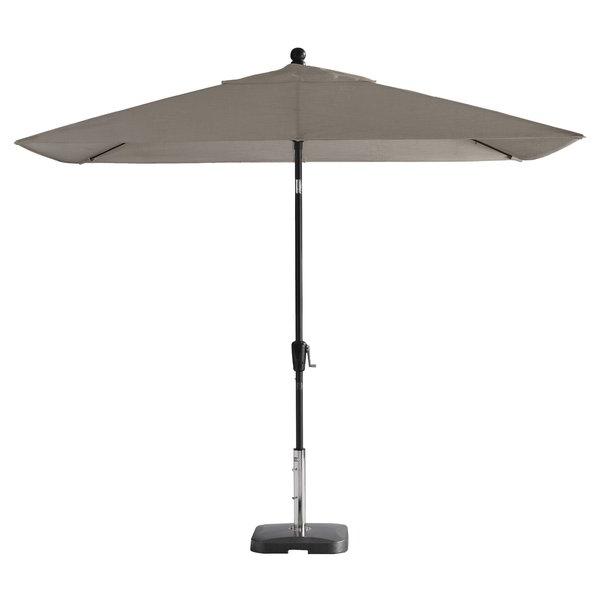 Favorite Wiechmann Push Tilt 9' X 7' Rectangular Market Sunbrella Umbrella Inside Wiechmann Push Tilt Market Sunbrella Umbrellas (View 3 of 25)
