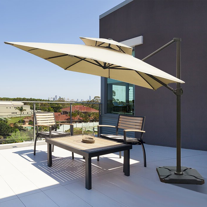 Featured Photo of Fazeley  Rectangular Cantilever Umbrellas