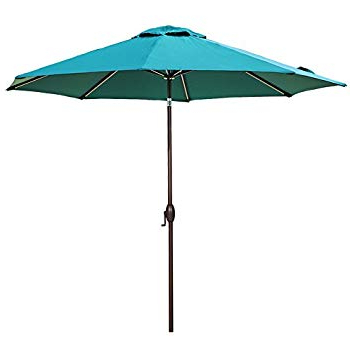 Featherste Market Umbrellas In Most Popular Amazon : Tropishade 11' Sunbrella Patio Umbrella With Royal Blue (View 12 of 25)