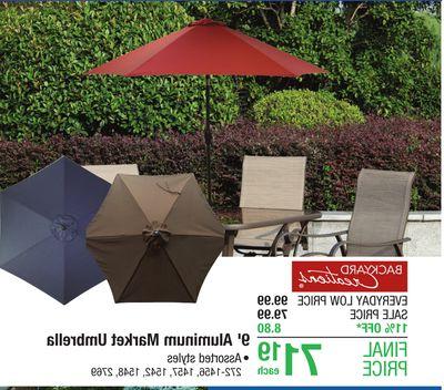 Flipp Intended For Recent Destination Gear Square Market Umbrellas (View 17 of 25)