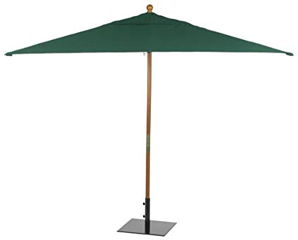 Fordbridge Rectangular Market Umbrellas Pertaining To Most Recently Released Oxford Garden Sunbrella 10 Foot Rectangular Market Umbrella, Hunter Green (View 10 of 25)