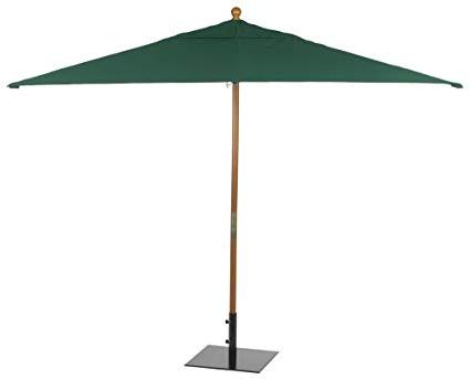 Fordbridge Rectangular Market Umbrellas Pertaining To Most Recently Released Oxford Garden Sunbrella 10 Foot Rectangular Market Umbrella, Hunter Green (View 10 of 25)