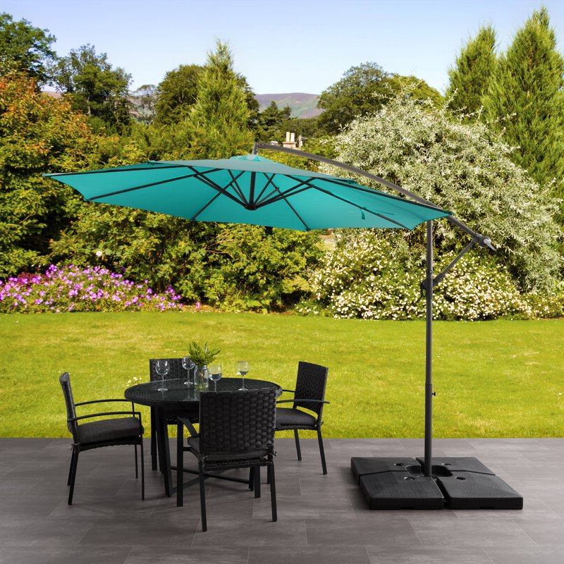Freda Cantilever Umbrellas With Most Popular Freda  (View 4 of 25)