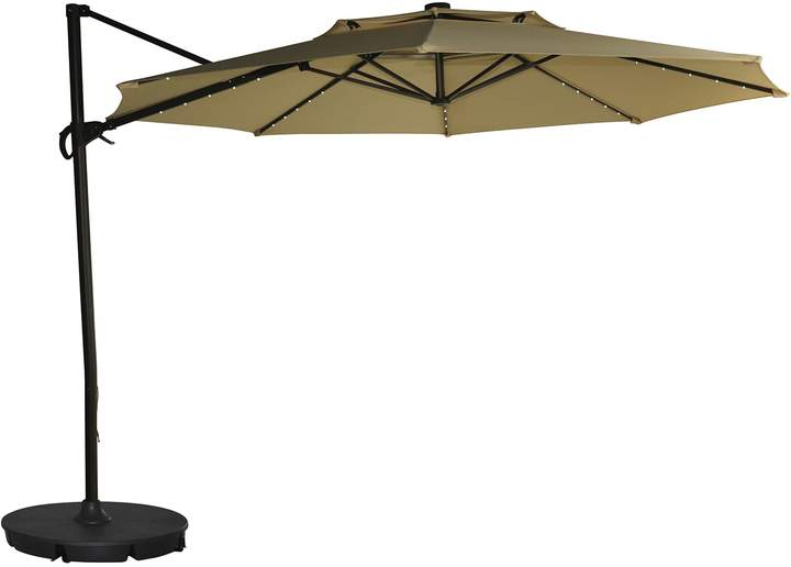 Frederick Square Cantilever Umbrellas Pertaining To Widely Used Sonoma Goods For Life Sonoma Goods For Life 11 Ft (View 12 of 25)