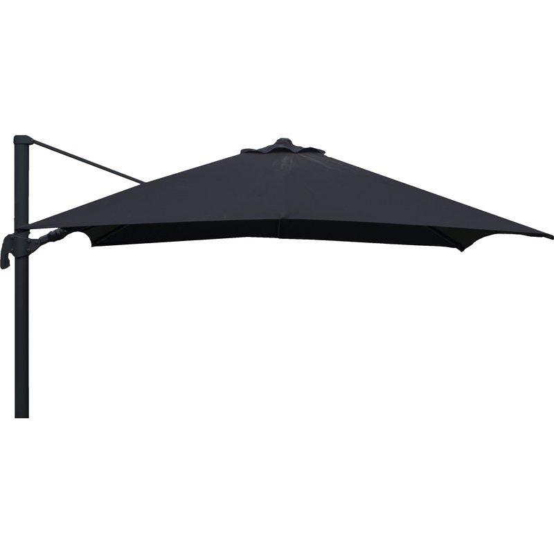 Gemmenne Square Cantilever Umbrellas Regarding Trendy Grote Liberty Aluminum Square Cantilever Umbrella (View 14 of 25)